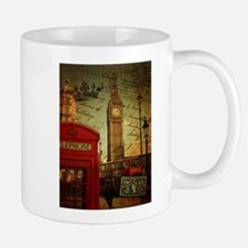 london landmark red telephone booth Mugs