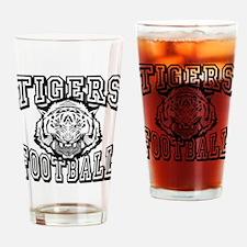 Tigers Football Drinking Glass