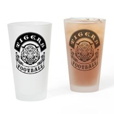 Tigers Football Drinking Glass