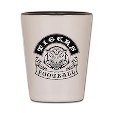 Tigers Football Shot Glass