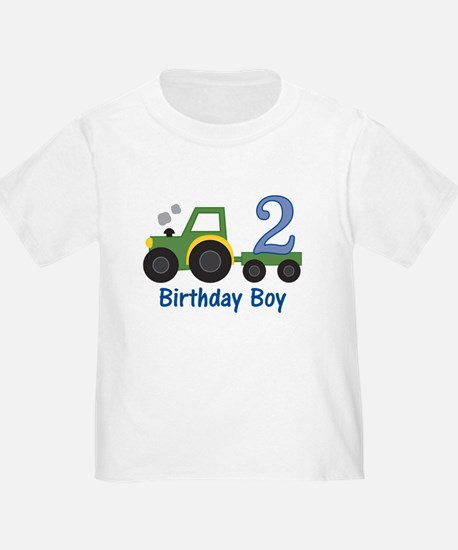 2nd Birthday Tractor T