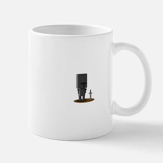Pixel Crusader Mugs
