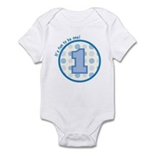 It's fun to be one! (blue) Infant Bodysuit