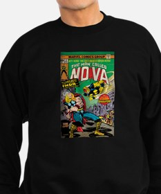 Comic Book Cover Nova 2 Sweatshirt