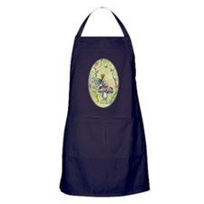 A Happy Place Flower Fairy and Ladybug Art Apron (