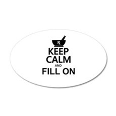Keep Calm Fill On Wall Decal