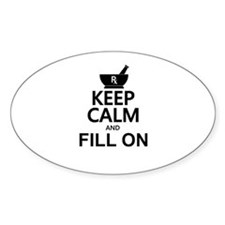 Keep Calm Fill On Decal