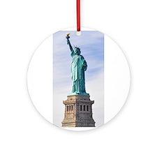 Statue of Liberty Ornament (Round)