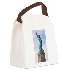Statue of Liberty Canvas Lunch Bag