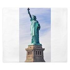 Statue of Liberty King Duvet