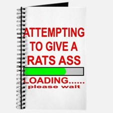 Attempting To Give A Rats Ass Journal
