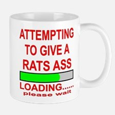 Attempting To Give A Rats Ass Mug