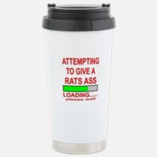 Attempting To Give A Ra Travel Mug