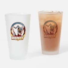 The Winged Avenger Drinking Glass