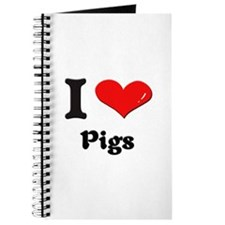 I love pigs Journal