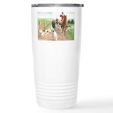foxhunt card Travel Mug