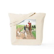 Foxhunt pillow Tote Bag