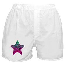 Glitter Dust Star 2 Boxer Shorts