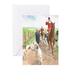 Foxhunt 3 Greeting Cards (Pk of 20)