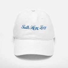 Faith Hope & Love Baseball Baseball Cap