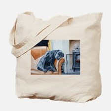 Sleeping Lab Tote Bag