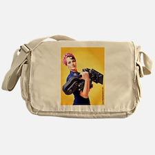 Jendra the Camerawoman Messenger Bag