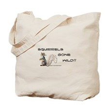 Wild Squirrel Tote Bag
