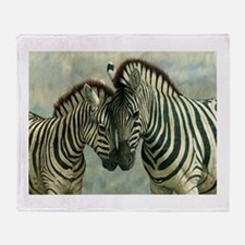 Zebras Throw Blanket