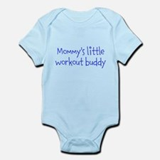 Mommys little workout buddy Body Suit