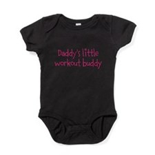 Daddys little workout buddy Baby Bodysuit