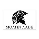 """Molon labe 3"""" x 5"""""""