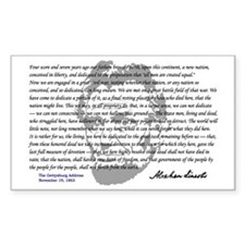 Gettysburg Address Decal