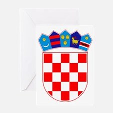 Croatia Coat of Arms Greeting Card