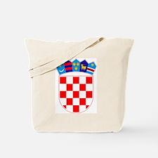 Croatia Coat of Arms Tote Bag