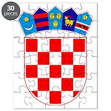 Croatia Coat of Arms Puzzle