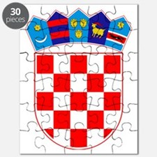 Croatia Coat of Arms Puzzle