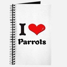 I love parrots Journal