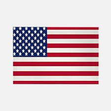 USA Flag (Fridge) Rectangle Magnet