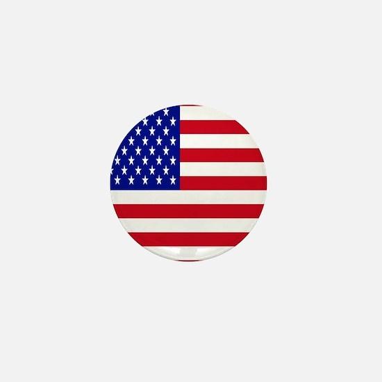 American Flag Mini Button
