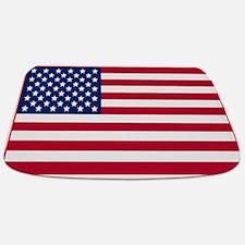 American Flag Bathmat