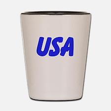 USA Shot Glass