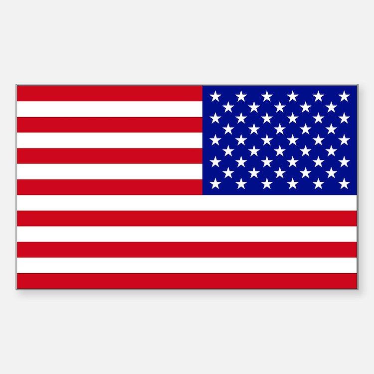 Reversed American Flag Decal