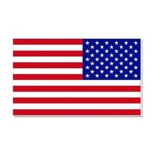 Reversed USA Flag Car Magnet 20 X 12