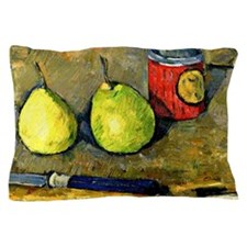 Cezanne - Pears and Knife Pillow Case