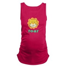 AnimalNoises_LionRoar.png Maternity Tank Top