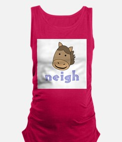 AnimalNoises_HorseNeigh.png Maternity Tank Top