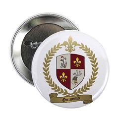 "GUIMOND Family Crest 2.25"" Button (10 pack)"