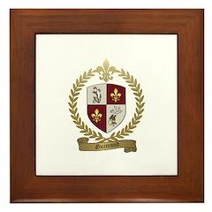 GUIMOND Family Crest Framed Tile