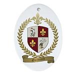 GUIMOND Family Crest Oval Ornament
