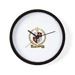 GUIMOND Family Crest Wall Clock